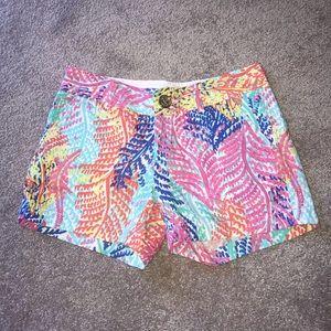 Lilly Pulitzer Shorts - The Callahan Short, Size 0